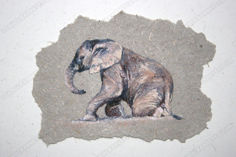 "<span style=""float:left"">Mucky Ellie</span> <span style=""float:right""><a href=""http://www.carolbarrett.co.uk/paintings/mucky-ellie/?from=/on-specialty-paper-sold/"">More info »</a></span>"