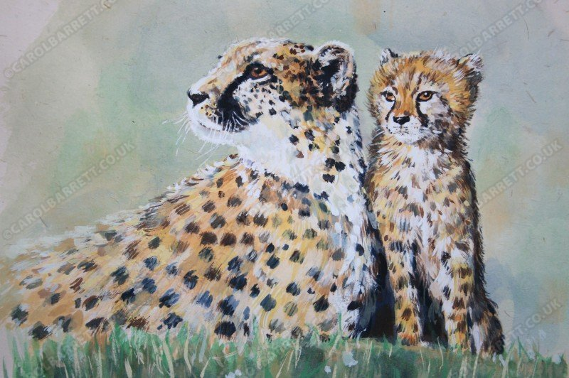 "<span style=""float:left"">Lone Kit</span> <span style=""float:right""><a href=""http://www.carolbarrett.co.uk/paintings/lone-kit/?from=/cheetah-sold/"">More info »</a></span>"
